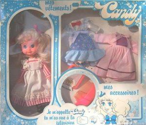 Boîte de poupée Candy