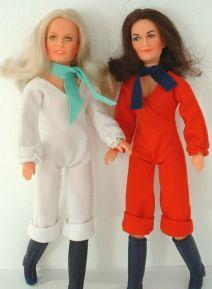 Les poupées Drôles de dames